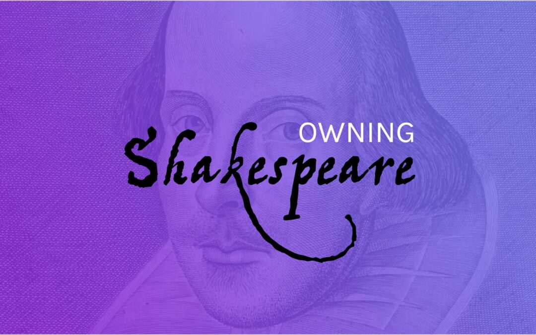 Owning Shakespeare